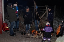 Värmande eld i Tomtebo (2019)
